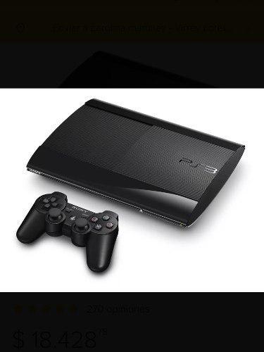 Ps3 Slim 500gb +jostick+juegos.nueva!