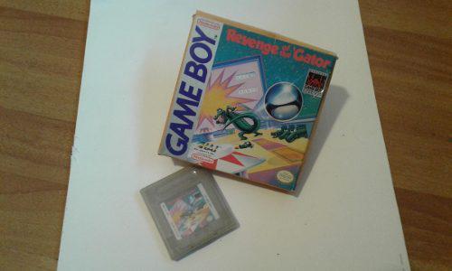 Revenge Of The Gator / Juego De Game Boy Original