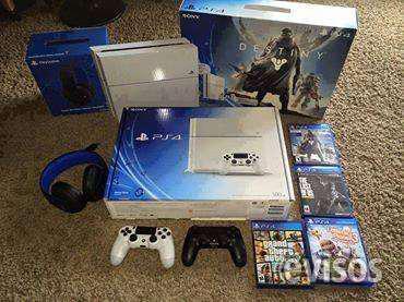 Sony ps4 console 500gb con 4 juegos $150 navidad promo en