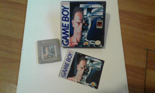 Terminator2 / Juego De Game Boy Original