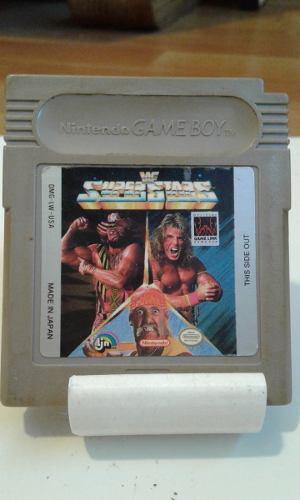 Wf Superstar / Juego De Game Boy Original