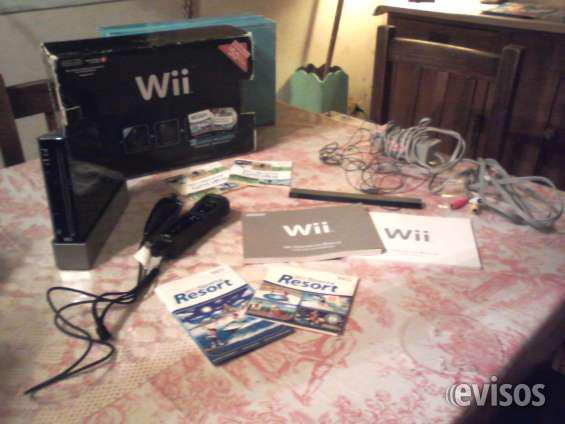 Wii casi sin uso impecable 2 juegos,joystick nunchuk en