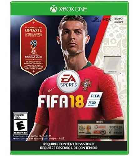 Xbox One Fifa 18 Copa Mundial Juego Físico