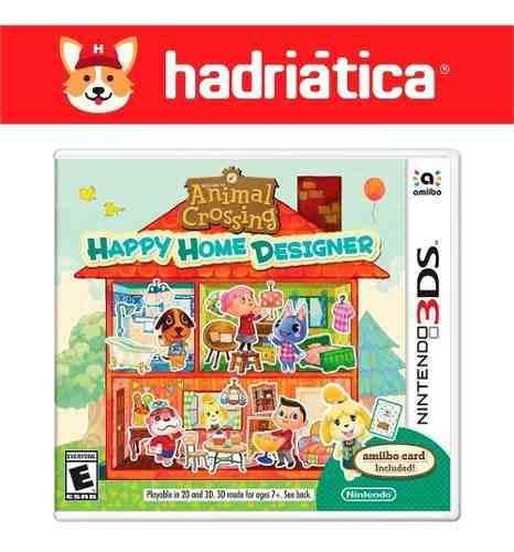 Animal Crossing Happy Home Designer - Nintendo 3ds - Sellado