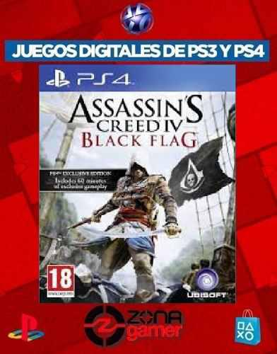 Assassins Creed 4 Black Flag Ps4 Oferta !!!