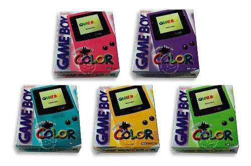 Cajas Custom Repro Game Boy Color Leer* Elegir Modelos