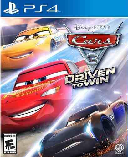 Cars 3 Ps4 Juego Nuevo Blu-ray Original Fisico Sellado