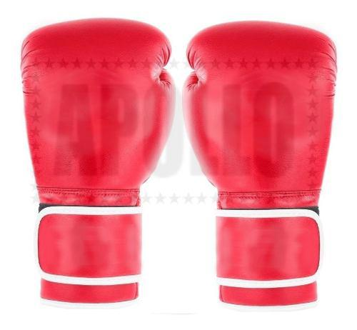 Guantes De Boxeo Kick Cuero Sintetico Box Boxing Ufc 10oz