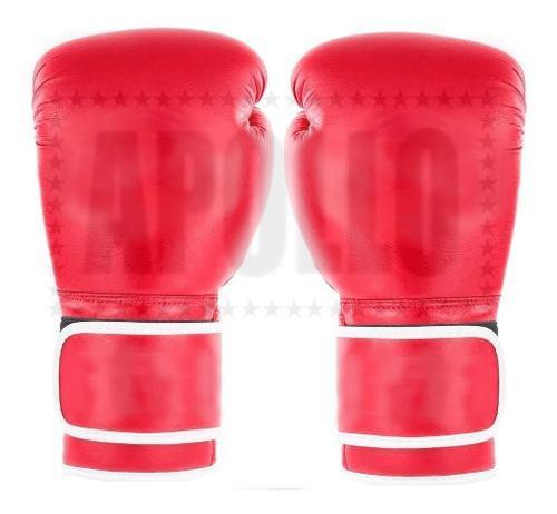 Guantes De Boxeo Kick Cuero Sintetico Box Boxing Ufc 12oz