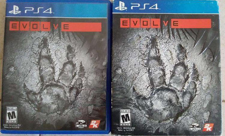 Juego Fisico Original EVOLVE Playstation 4 Ps4 ENVÍOS AL