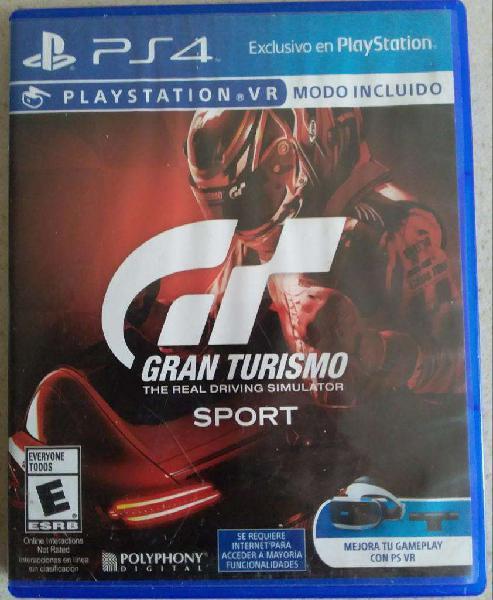 Juego Físico Gran Turismo Sport Playstation 4 Ps4 ENVÍOS