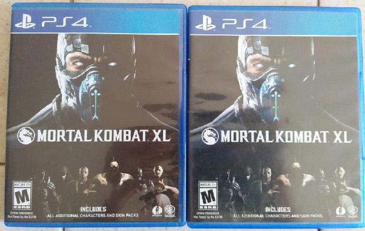 Juego Físico Original Mortal Kombat Xl Playstation 4 Ps4