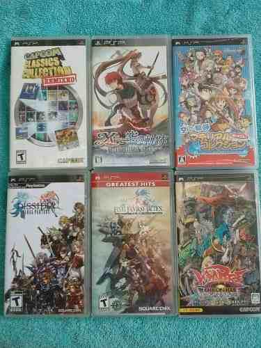 Juegos Originales De Psp Playstation Portable Unicos