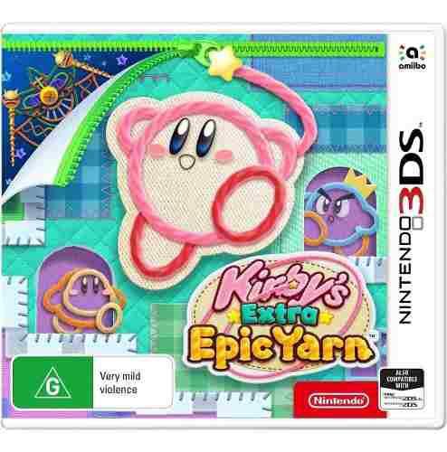 Kirby Extra Epic Yarn Nintendo 3ds Fisico Nuevo Sellado