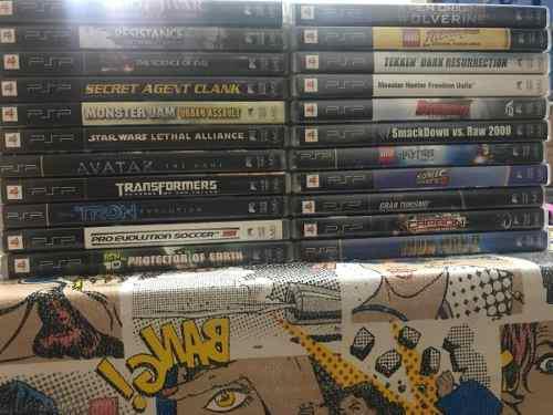 Mi Coleccion Lote De 22 Juegos Originales Para Psp Portatil