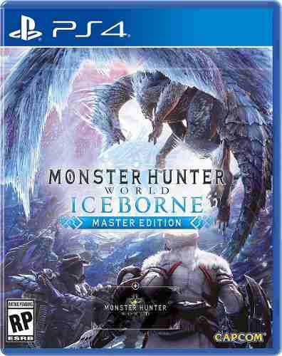 Monster Hunter Iceborne Ps4 Digita No Incluye Juego Base 1°