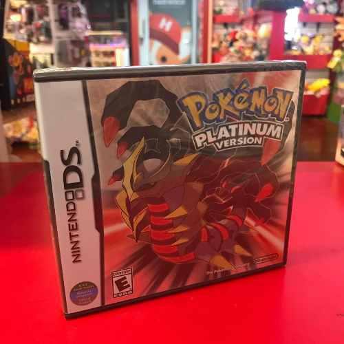 Pokemon Platinum Platino Nuevo Sellado Fisico Nintendo Ds