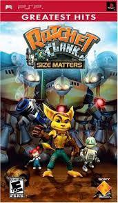 Psp Juego Ratchet And Clank - Size Matters