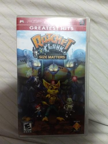 Ratchet And Clank: Size Matters Juego Psp Fisico Usado