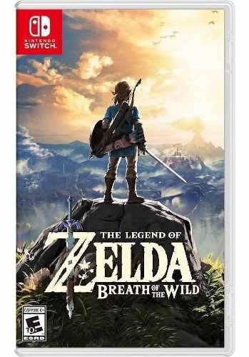 The Legend Of Zelda Breath The Wild Nintendo Switch Fisico !