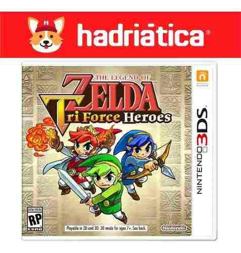 The Legend Of Zelda Triforce Heroes Nintendo 3ds New Fisico