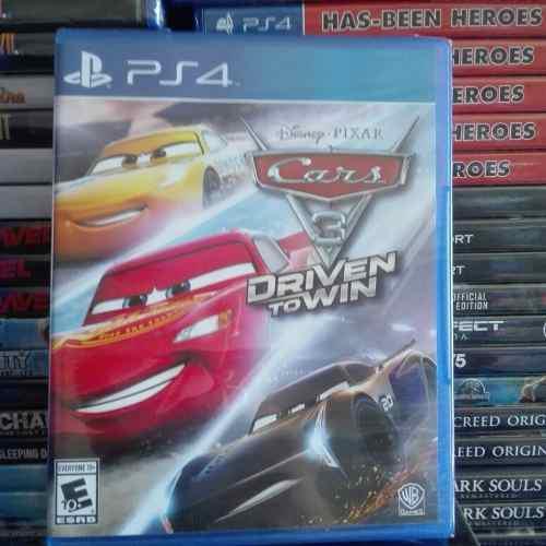 Video Juego Cars 3 Para Ps4 Nuevo Y Sellado Fisico