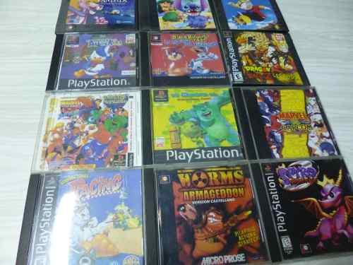 Lote De 12 Juegos Fisicos Play Station 1