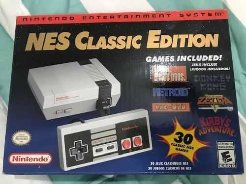 Nintendo Nes Classic Edition, 30 Juegos Incluidos