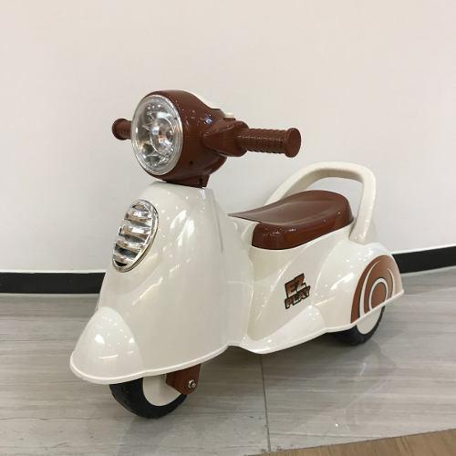 Andarín Tipo Moto Pata Pata Con Luz Y Sonido