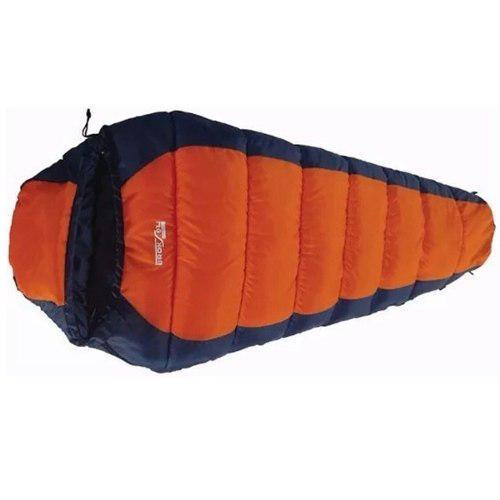 Bolsa De Dormir Broksol Malva 450 Camping Termica -10°