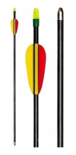 Flechas De Fibra De Vidrio 28 Pulgadas Para Arcos - Armadas