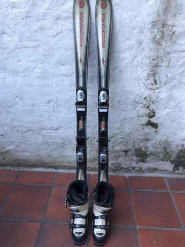 Vendo Excelente Equipo De Esquí Tablas, Fijaciones Y Botas