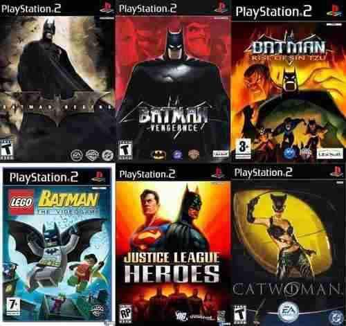 Batman Collection Ps2 Juego Sony Playstation 2 (6 Discos)