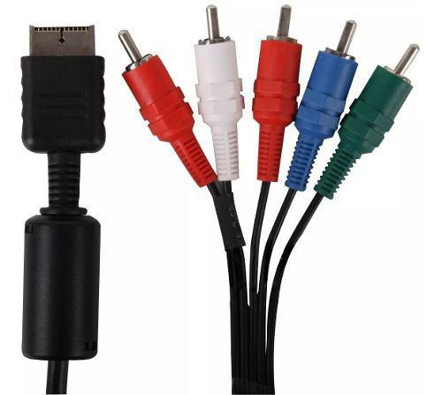 Cable De Video Componente Para Ps2 A/v Seisa Ramos Mejia