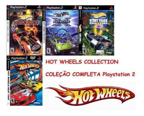 Hot Wheel Collection Ps2 Juego Juego Playstation 2 (4discos)