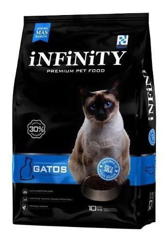 Infinity Gato Adulto X 10 Kg Envio S/c Cap