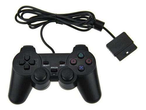 Joystick Ps2 Para Sony Playstation 2 Dualshock Blister Gtia