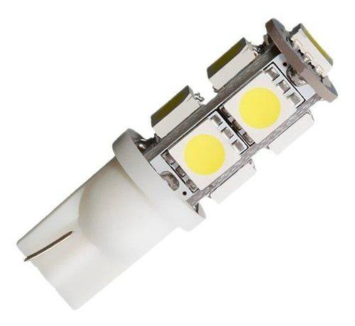 Lampara Led T10 W5w 9 Led Lampara Luz Posicion 6000k 12v