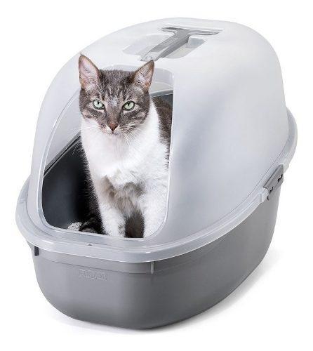 Litera Baño Arenero Para Gatos Con Tapa Y Pala Rimax
