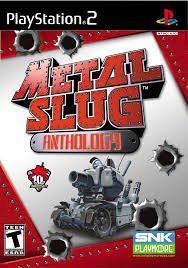Metal Slug Anthology Collection Ps2 Juego Playstation 2