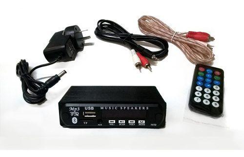 Modulo Usb Con Bluetooth Y Control Remoto - Para Usar A 220v
