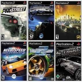 Need For Speed Collection Ps2 Juego Playstation 2 (6 Discos)