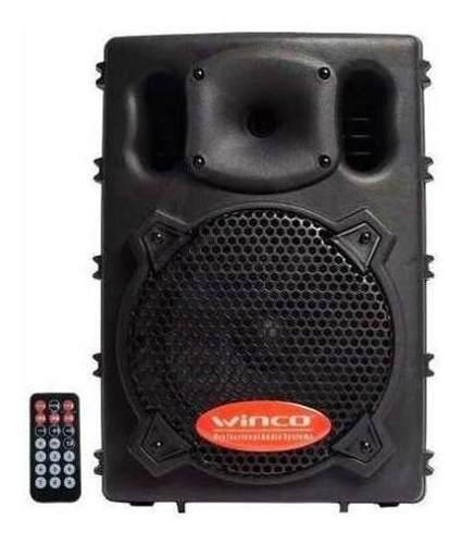 Parlante Potenciado Bluetooth Winco W208 Usb Control Remoto