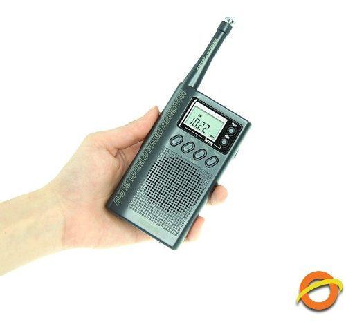 Radio Portatil Sintonizador Multibanda Am Fm Antena Gran