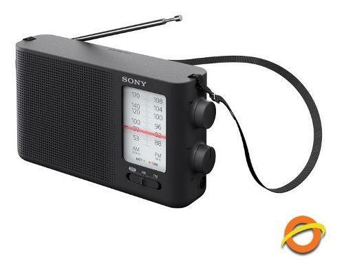 Radio Portátil Analogica Am Fm Parlante Correa Pilas D