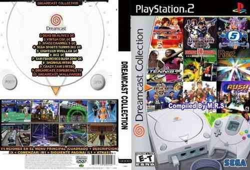 Retro Game Dreamcast Collection Ps2 Juego Para Playstation 2