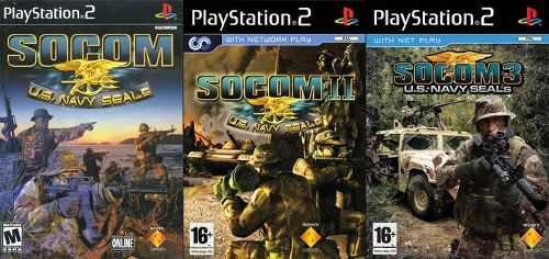 Socom Collection Ps2 Juego Playstation 2 (3 Discos)