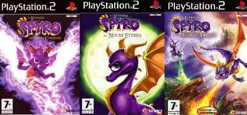 Spyro Dragon Collection Ps2 Juego Playstation 2 (3 Discos)
