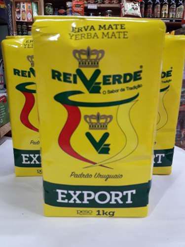 Yerba Rei Verde,paquete De 1 Kg,similar Baldo Y Canarias