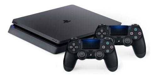 Consola Sony Playstation 4 1tb Ultra Slim Ps4 + 2 Controles